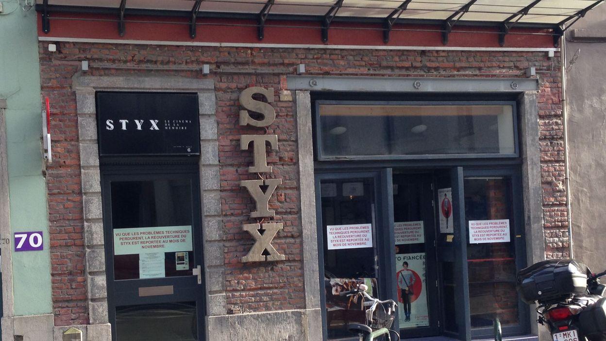 Le Styx, plus petit cinéma de Belgique, sans doute bientôt vendu