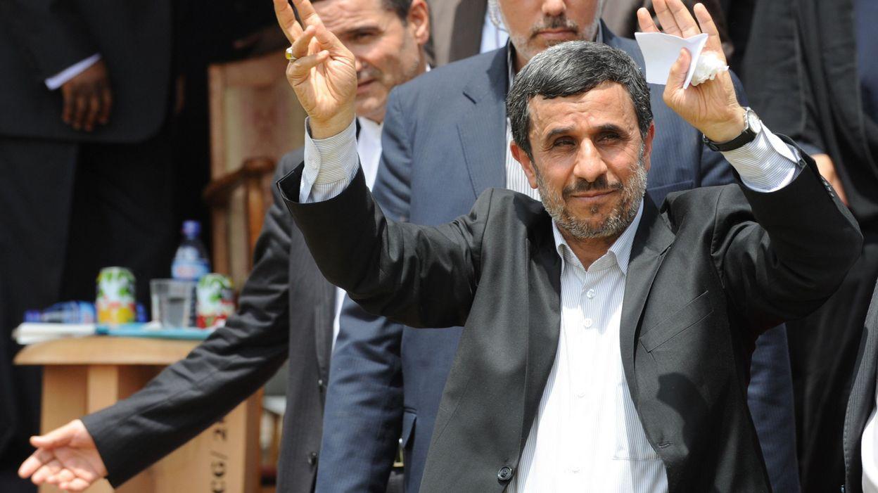 Ahmadinejad of iran calls israel an insult to humankind