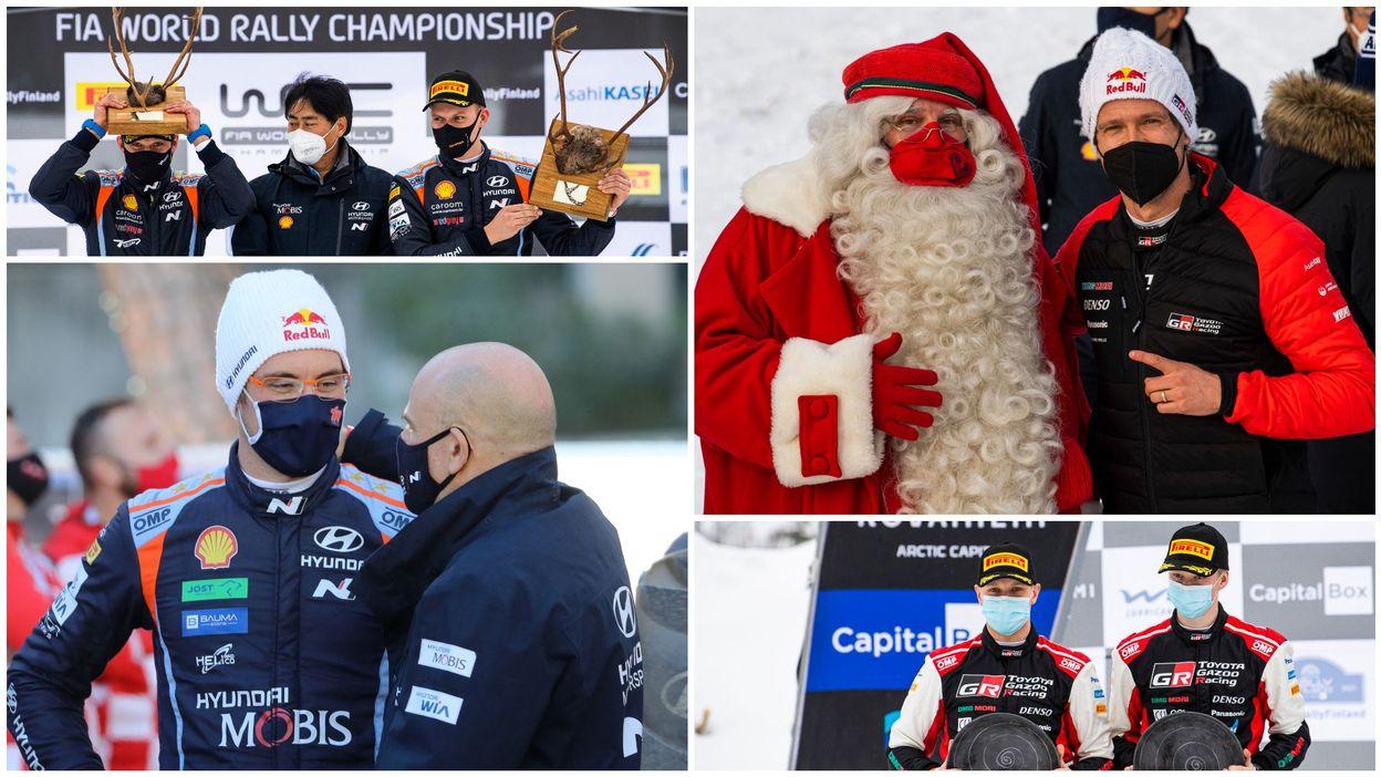 15h43 WRC Arctic : L'image, la surprise, la déception... 5 faits marquants du rallye - RTBF