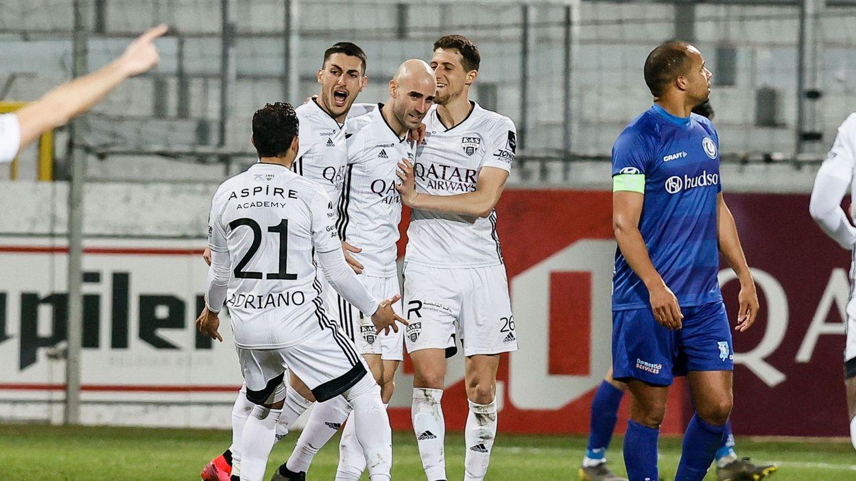 Coupe de Belgique : Eupen vainqueur contre Gand et 1er qualifié pour les demi-finales - RTBF