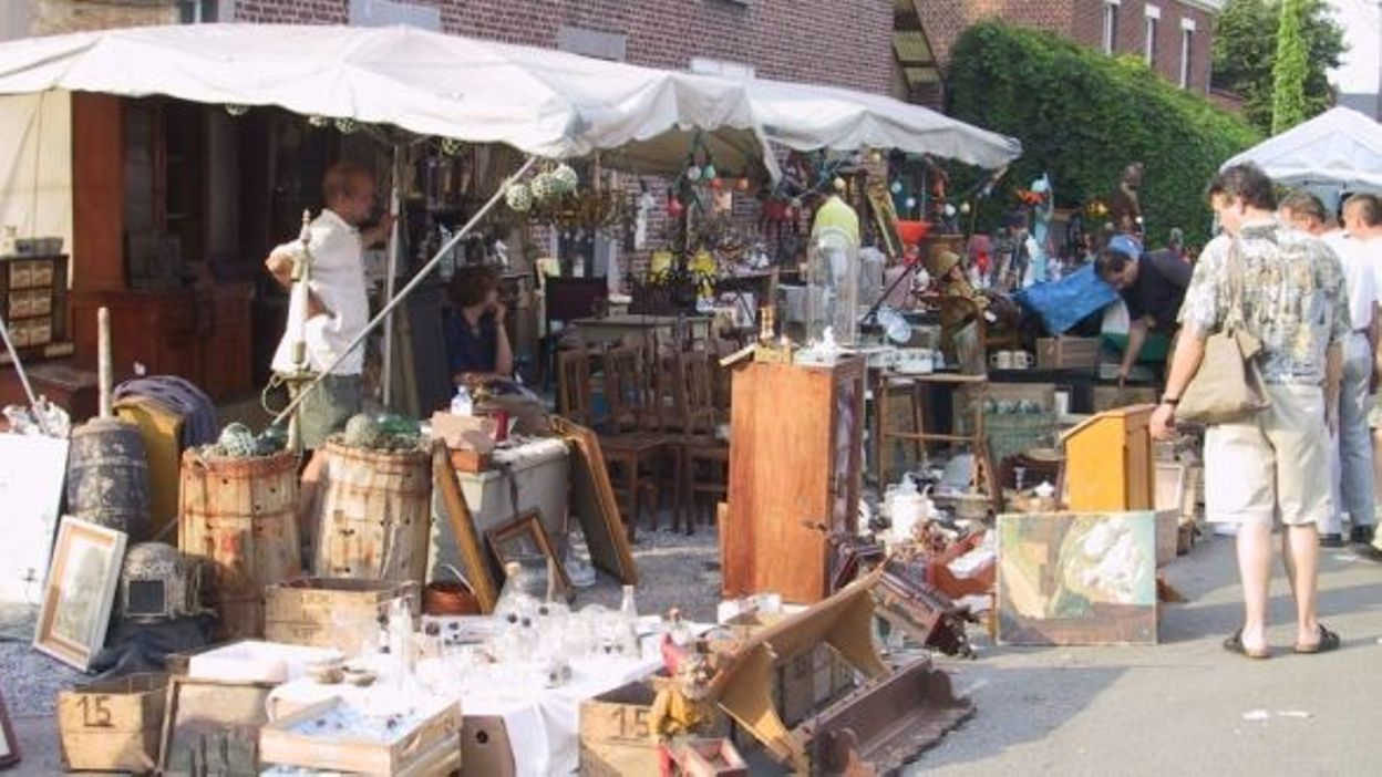 Brocante de temploux c 39 est ce week end - Brocante a paris ce week end ...