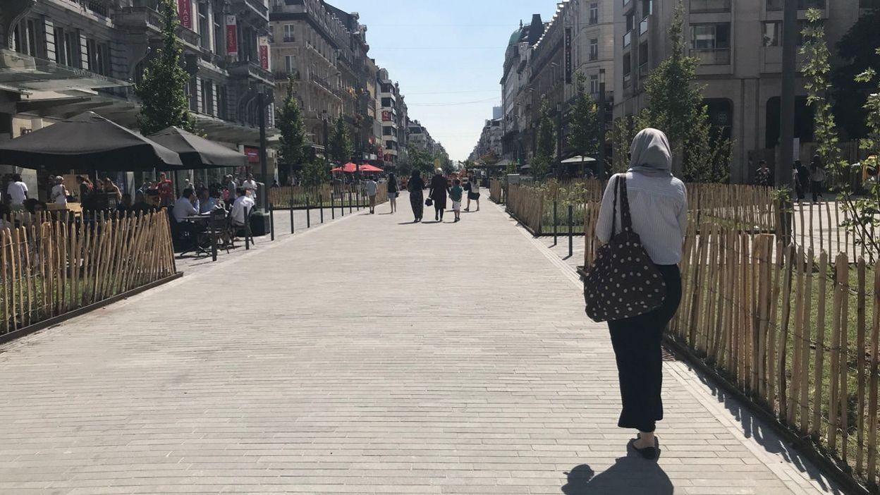 Pas d'alcool sur le piétonnier de Bruxelles : l'Horeca soutient l'interdiction
