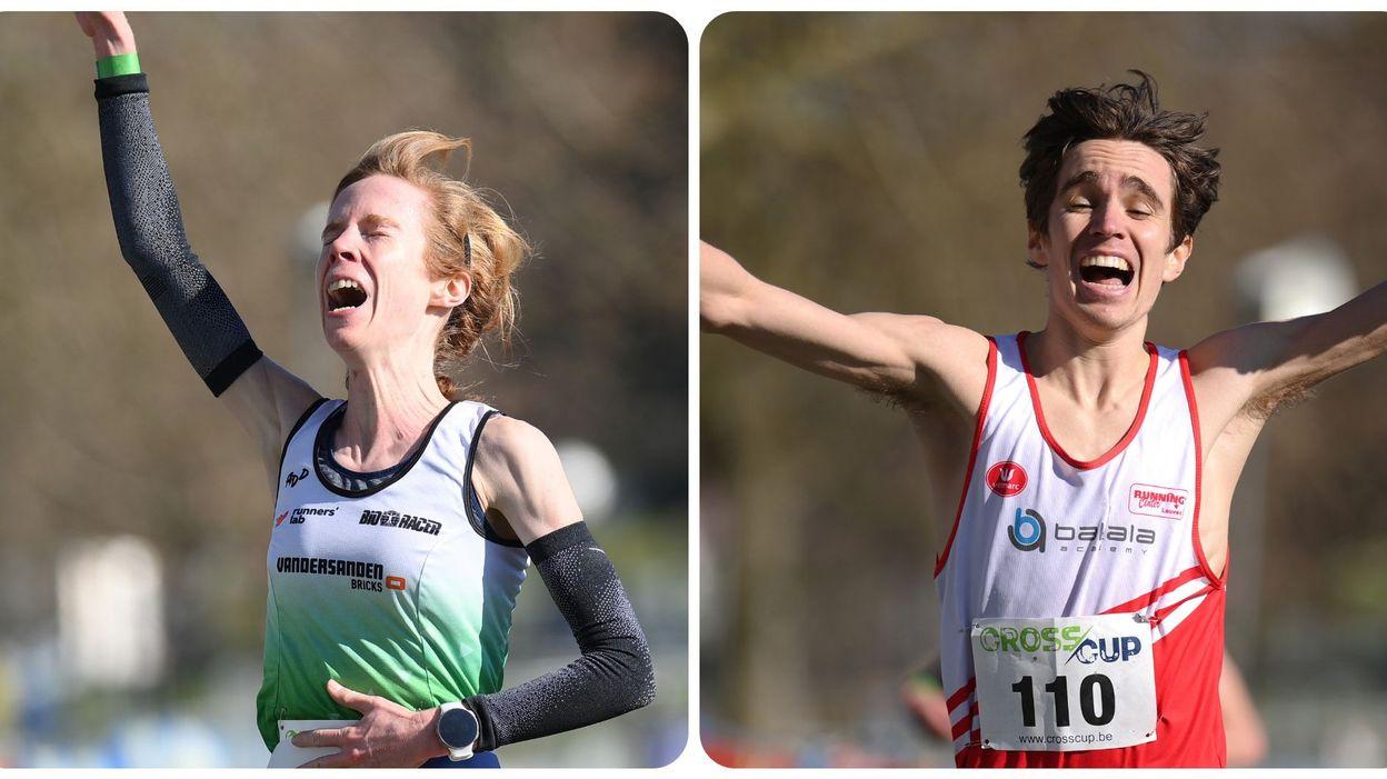 Championnats de belgique de cross: Mieke Gorissen titrée chez les dames, John Heymans chez les hommes - RTBF