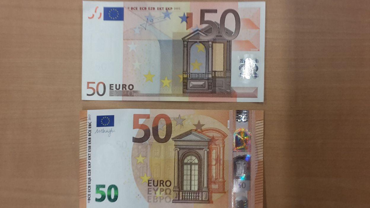 Un Nouveau Billet De 50 Euros En Circulation Dans La Zone Euro