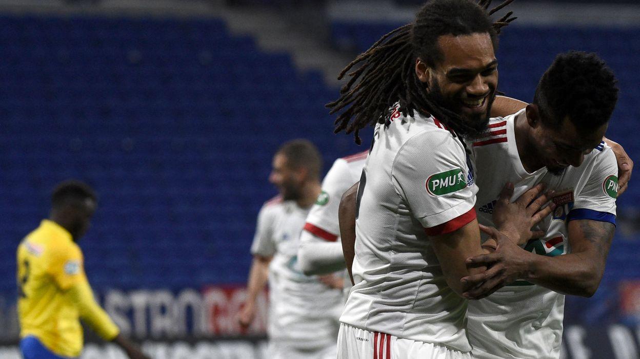 Coupe de France : Jason Denayer buteur avec Lyon, vainqueur 5-2 contre Sochaux - RTBF