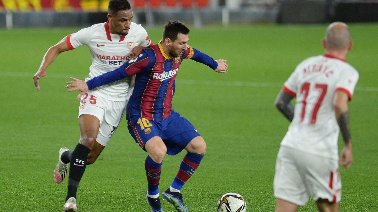 Sport Coupe d'Espagne : Le FC Barcelone rechute, prenant une claque à Séville - RTBF
