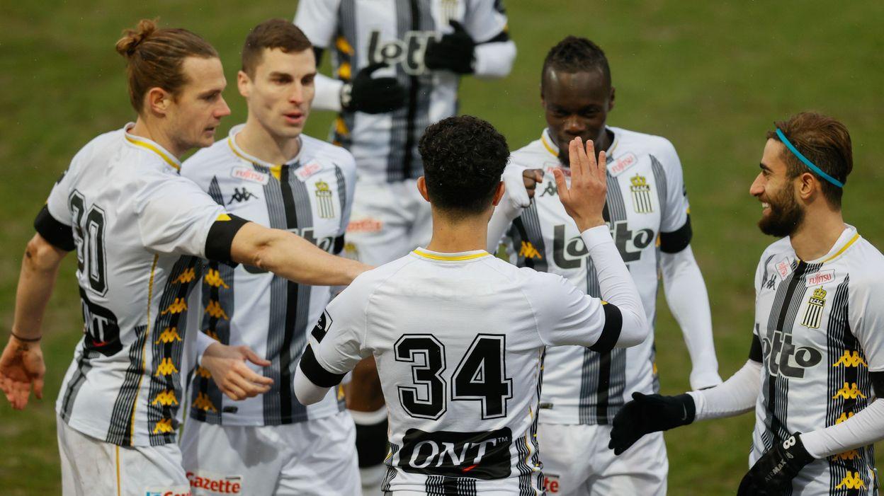Charleroi est rejoint en fin de match par Zulte-Waregem malgré le but le plus rapide de la saison - RTBF