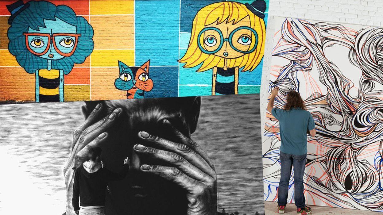 La Fresque Murale Du Street Art à La Déco Domestique