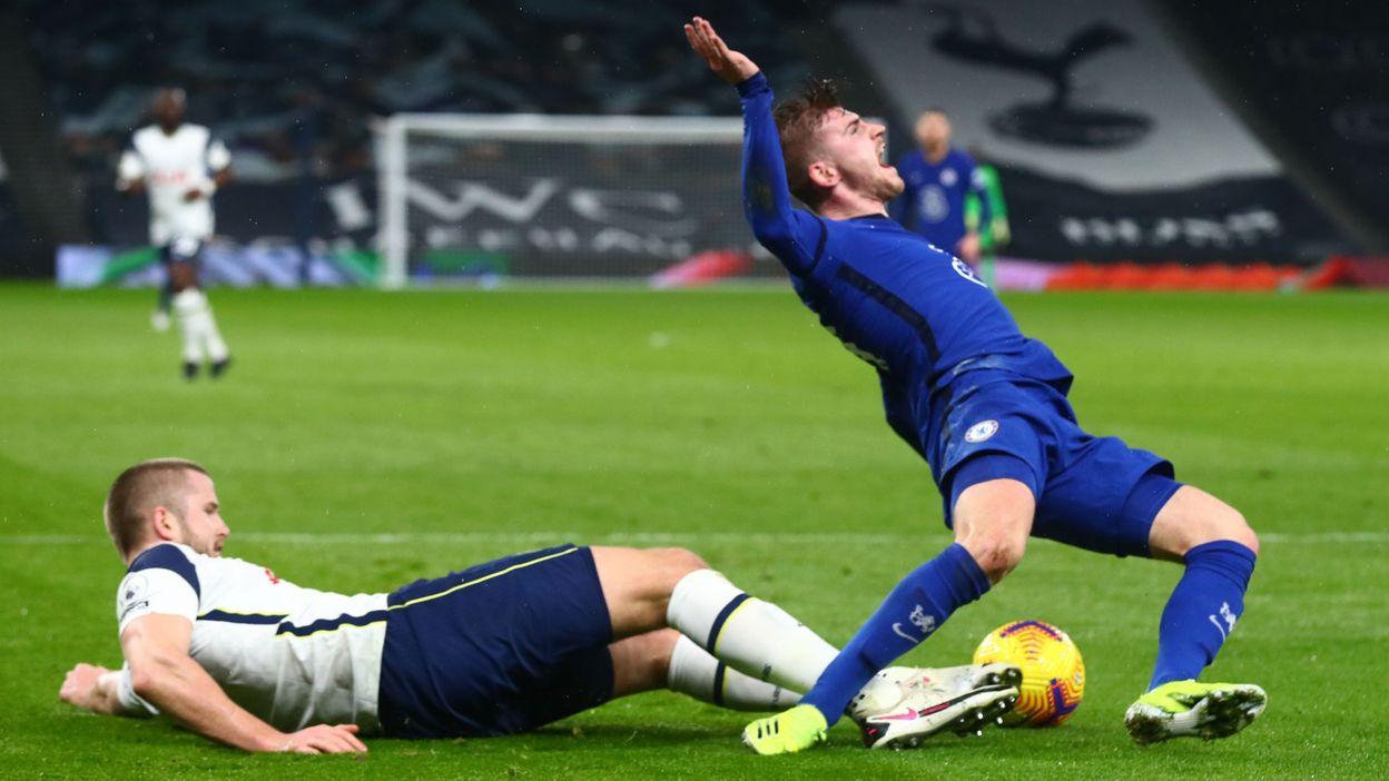 Le duel Tottenham – Chelsea décidé par une faute naïve de Dier - RTBF