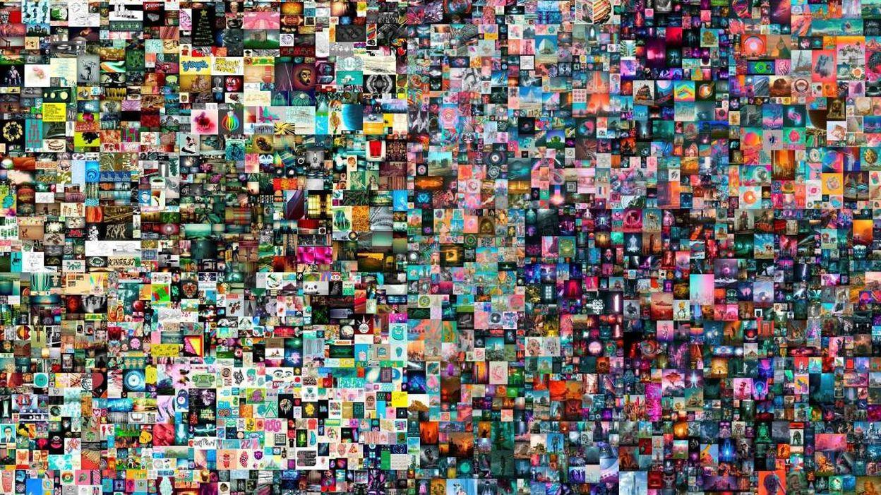 Culture Une oeuvre numérique vendue 69,3 millions de dollars chez Christie's, un record - RTBF