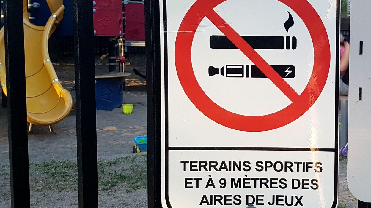 Verviers veut interdire la cigarette dans ses plaines de jeux