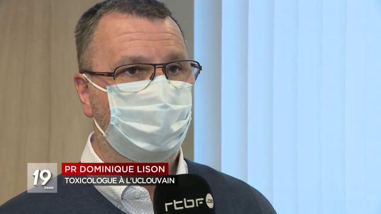 Info Avrox : les masques distribués en début de confinement par le gouvernement seraient toxiques - RTBF
