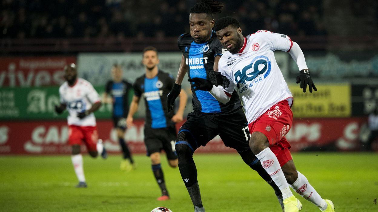 Courtrai, mené 0-2, prend finalement un bon point contre le Club de Bruges
