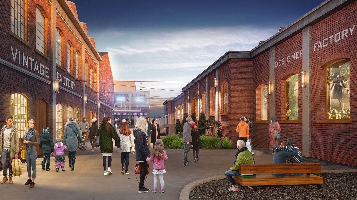 Le projet de centre commercial au Val St Lambert nominé pour une récompense internationale