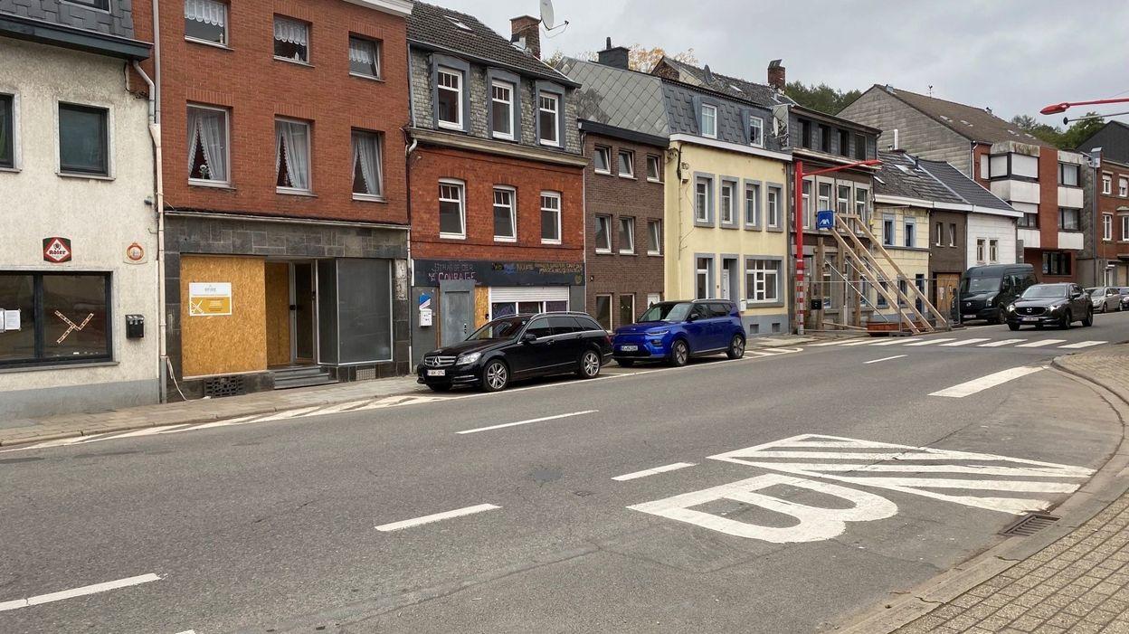 La ville basse d'Eupen reste marquée par les inondations