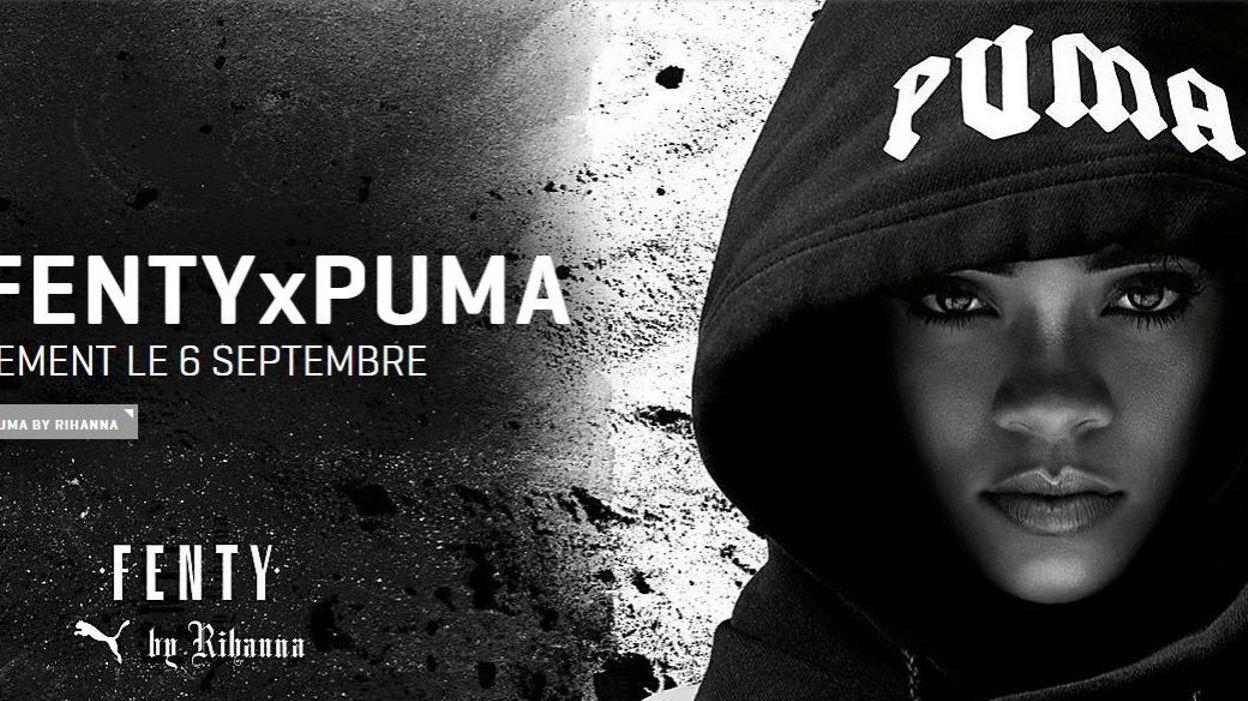 Sa Pour Snobe Week Puma Fashion X Rihanna Seconde Collection Fenty La wPlOkXiuTZ