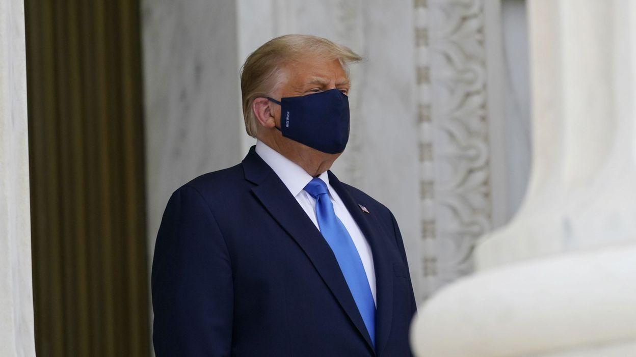 Coronavirus aux Etats-Unis : Donald Trump était plus malade cet automne que ce qui avait été annoncé - RTBF