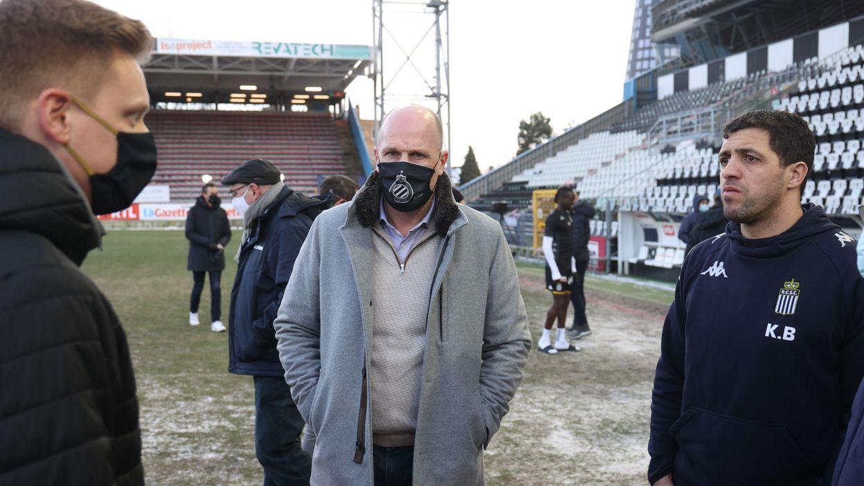 Le match Charleroi-Bruges disputé après la dernière journée de championnat ? - RTBF