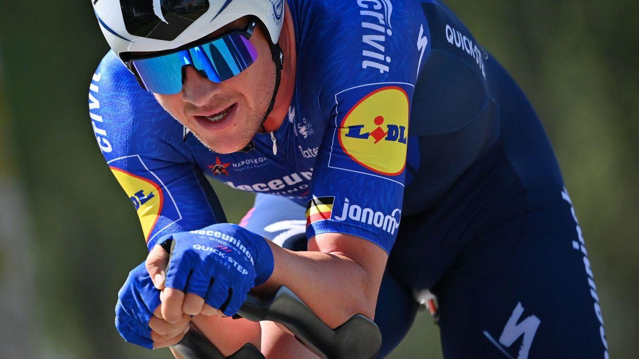 Yves Lampaert devance Remco Evenepoel et devient Champion de Belgique du contre-la-montre