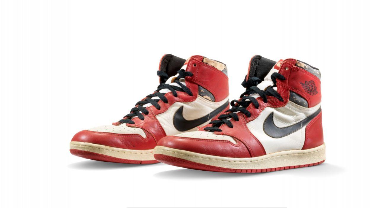 615.000 dollars pour une paire de baskets, le prix hallucinant ...