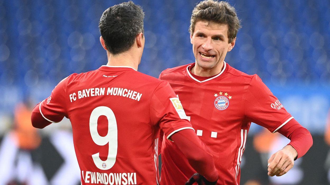 Sport Bundesliga : Le Bayern écrase Cologne, Müller à l'assist... 30 secondes après sa montée - RTBF
