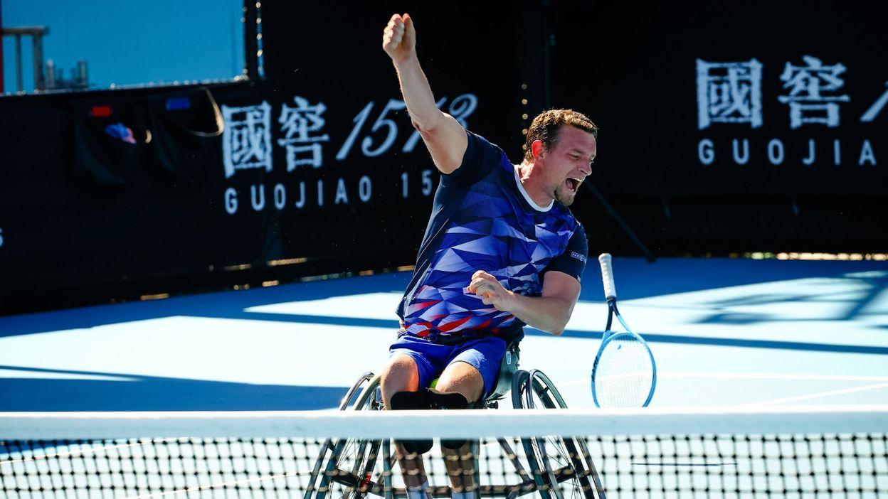 Sport Open d'Australie : Joachim Gérard a gagné son premier titre du Grand Chelem en simple - RTBF