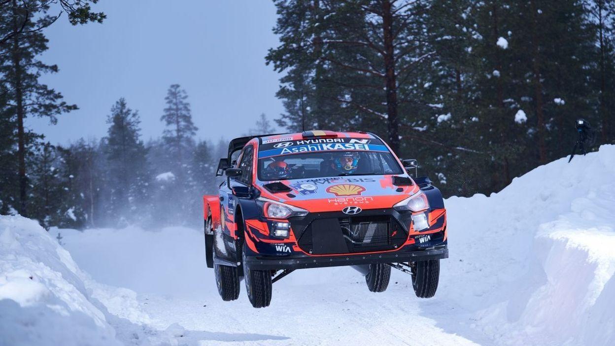WRC Arctic : Neuville en lutte pour le 2e rang, place à la Power Stage ! (LIVE vidéo et commenté) - RTBF