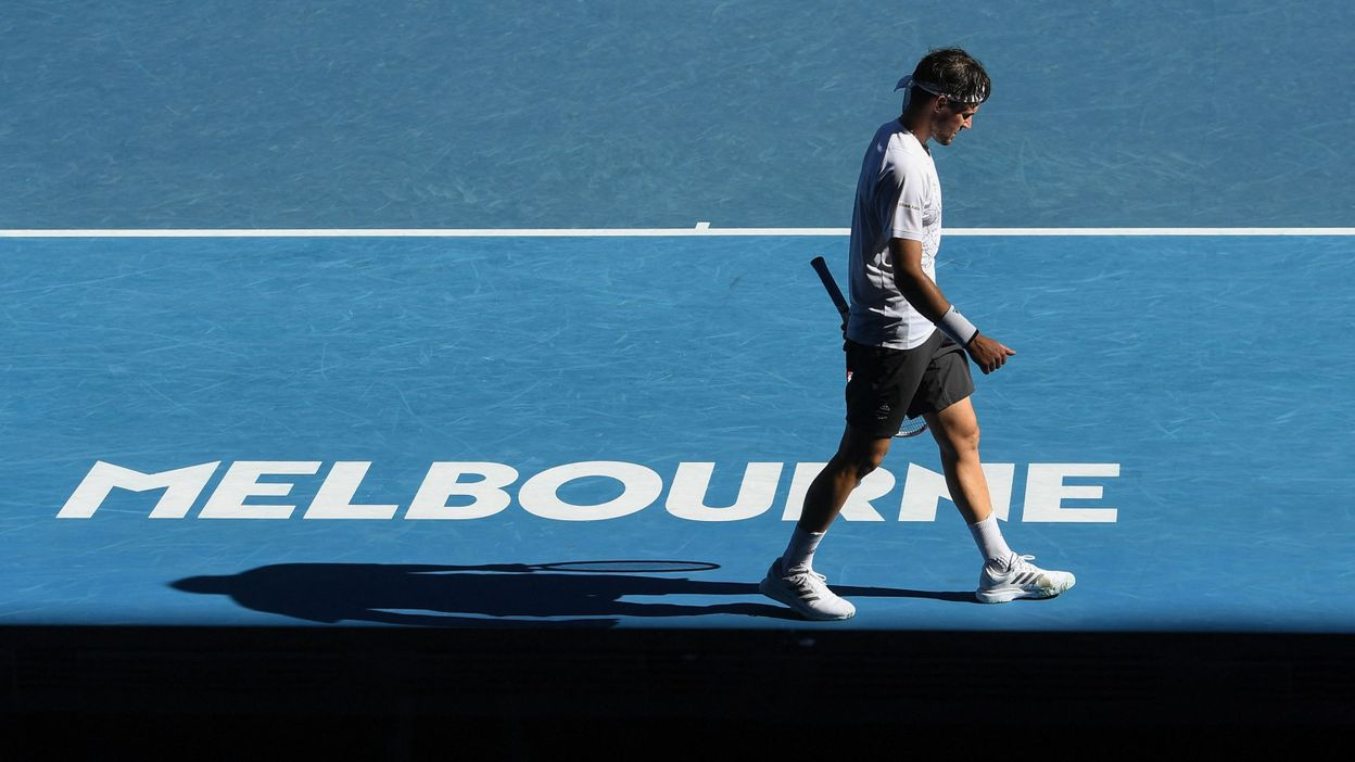 Open d'Australie, Dominic Thiem ne cherche pas d'excuses :