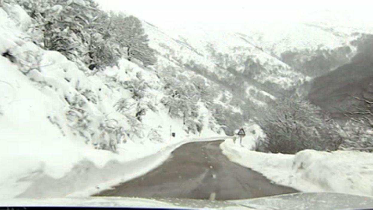 Les Images De L Espagne Sous La Neige 30 Provinces Concernees
