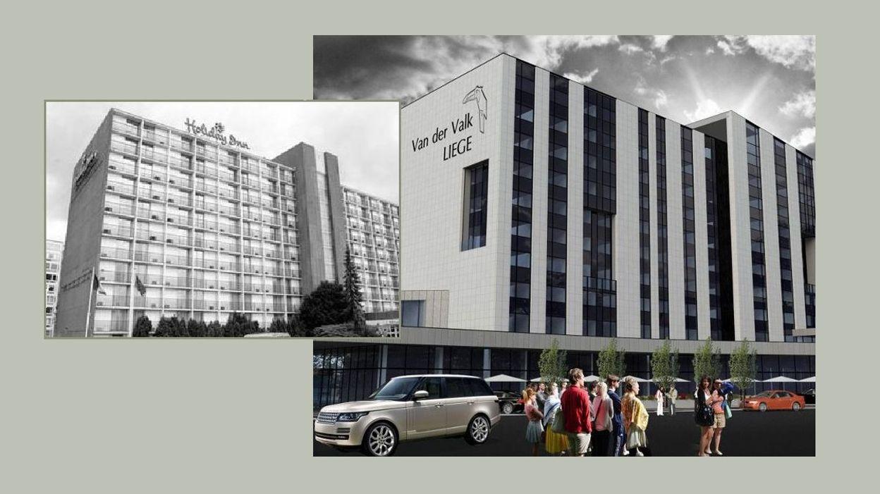 Le projet li geois du groupe h telier van der valk soumis for Groupe hotelier