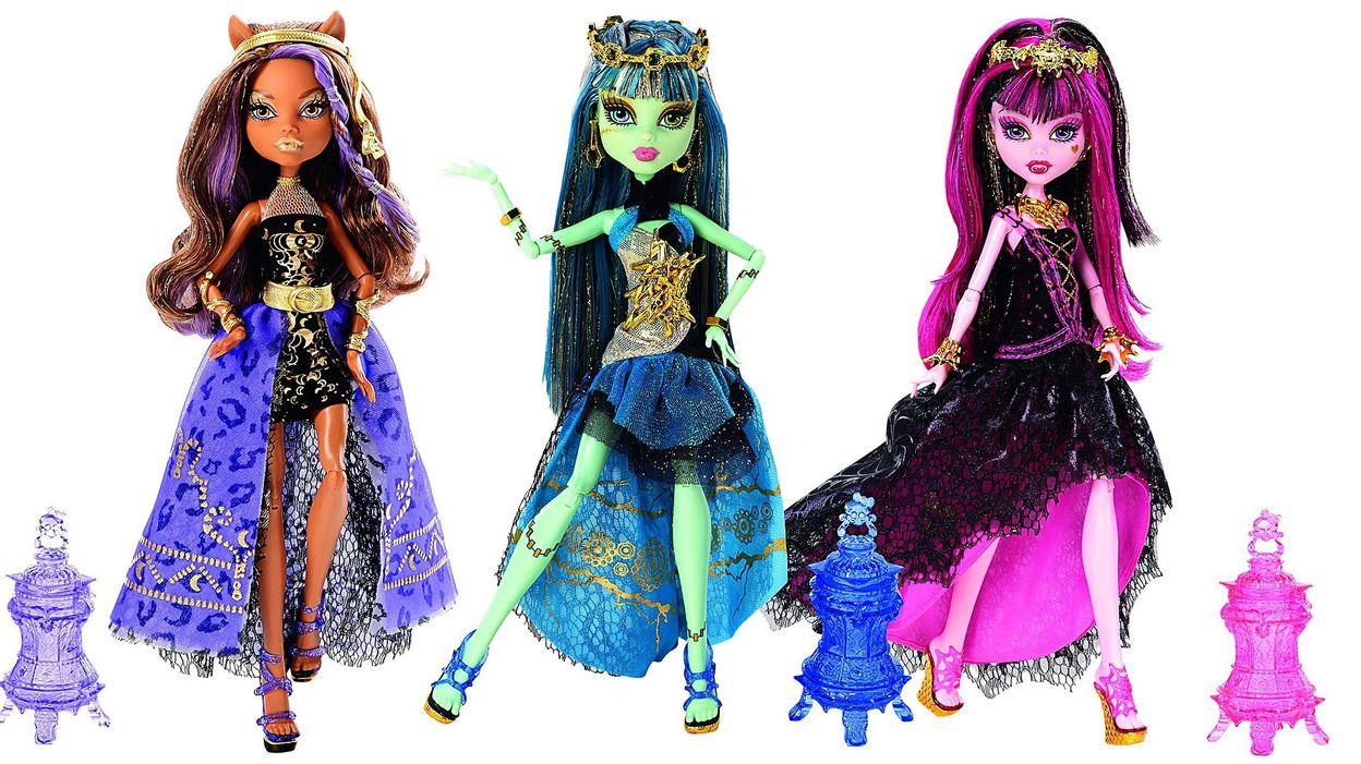 Les Poupees De Monster High Arrivent Sur Grand Ecran