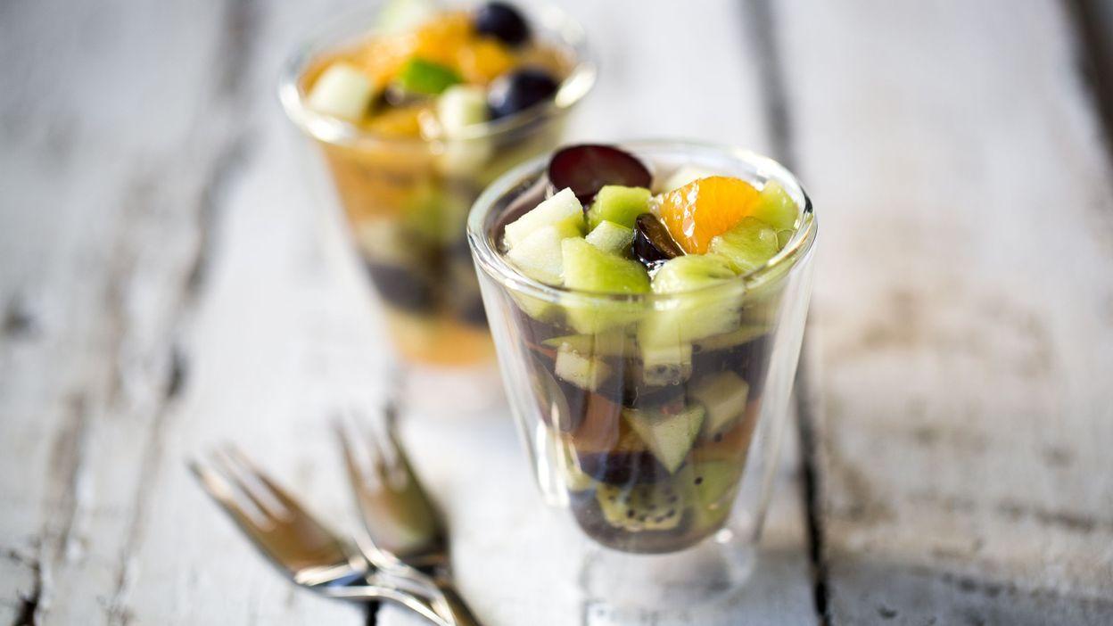 Recette verrines de fruits au champagne - Cuisine au champagne ...