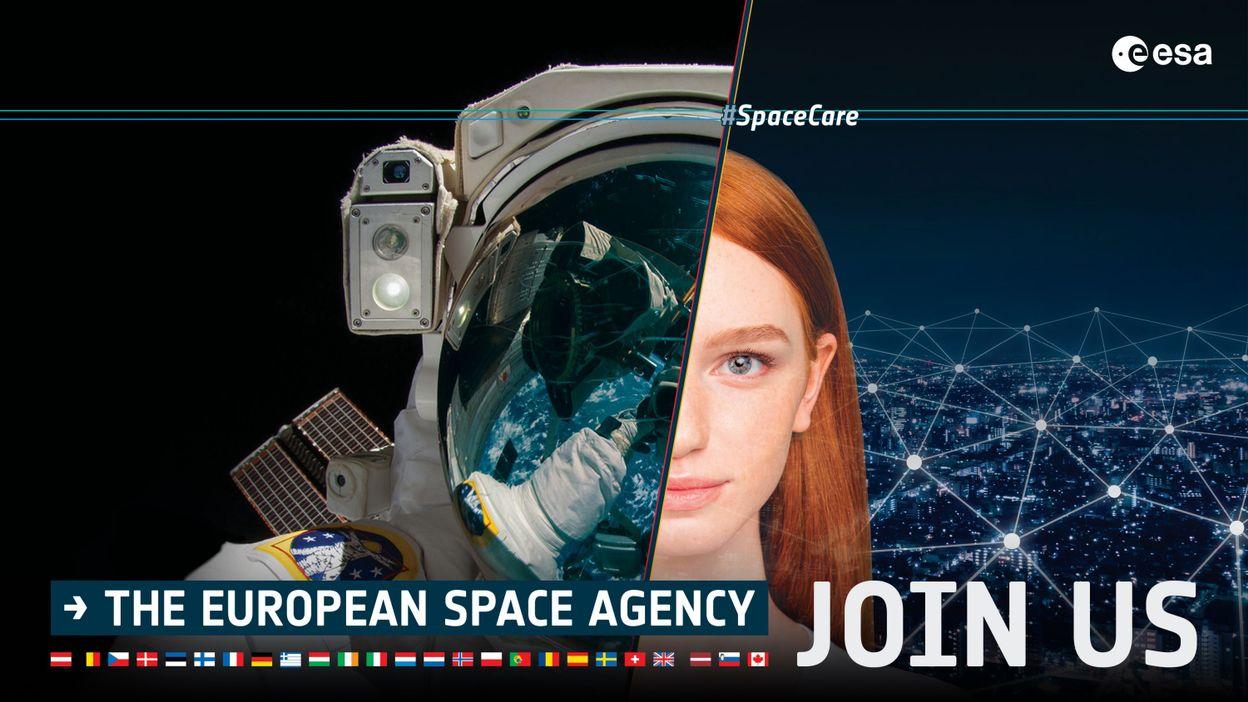 L'agence spatiale européenne recherche de nouveaux, et surtout de nouvelles, astronautes - RTBF