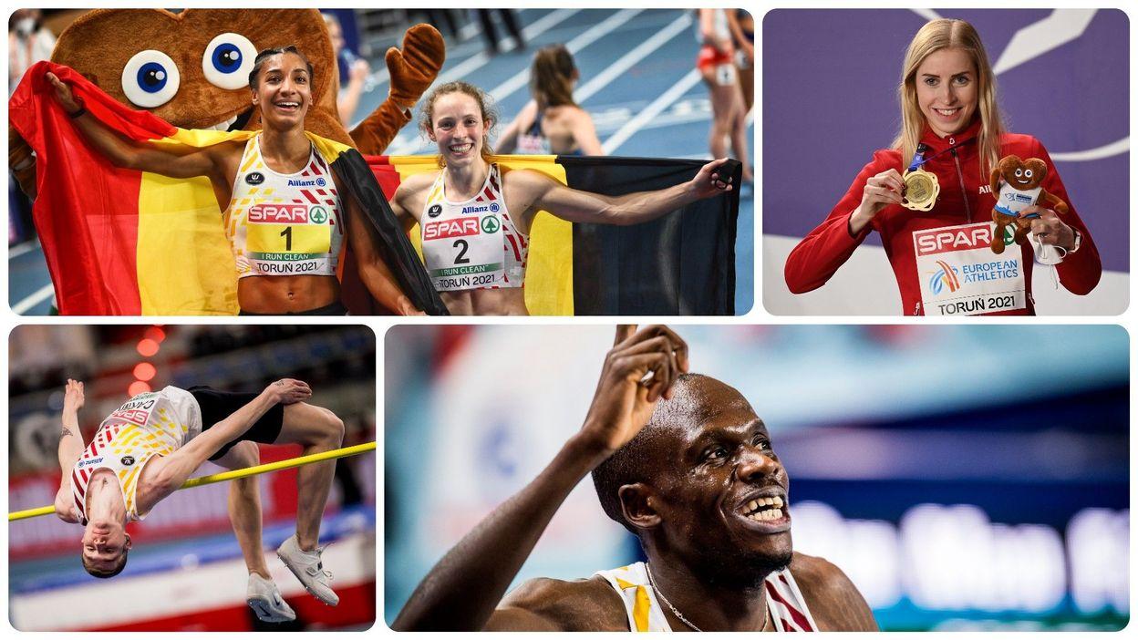 Bilan belge exceptionnel à Torun : revivez les 5 médailles de la Belgique - RTBF