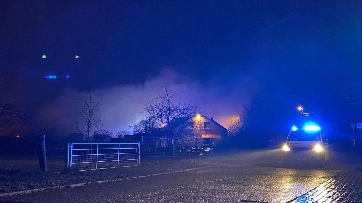 REGIONS Brabant wallon : plusieurs centaines d'animaux morts dans un incendie - RTBF