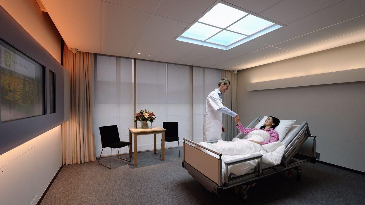 A l\'hôpital, une chambre individuelle coûte 970 euros de plus que la ...