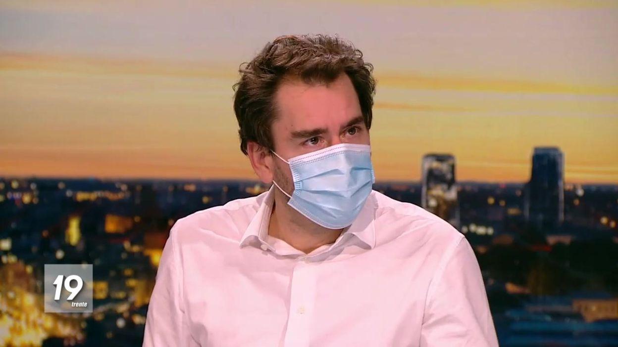 """Coronavirus en Belgique : """"La position sur les écoles a toujours résulté d'une estimation des coûts et des bénéfices"""", rappelle Marius Gilbert"""