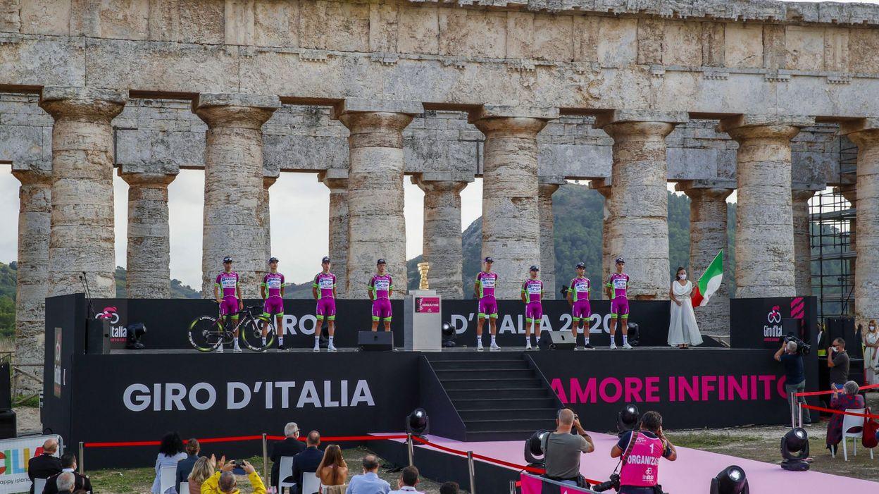 Sport Tour d'Italie : Trois formations italiennes invitées, Arkéa reste sur le carreau - RTBF