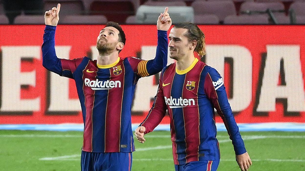 Barcelone et Lionel Messi en démonstration face à Alavés avant d'affronter le PSG - RTBF