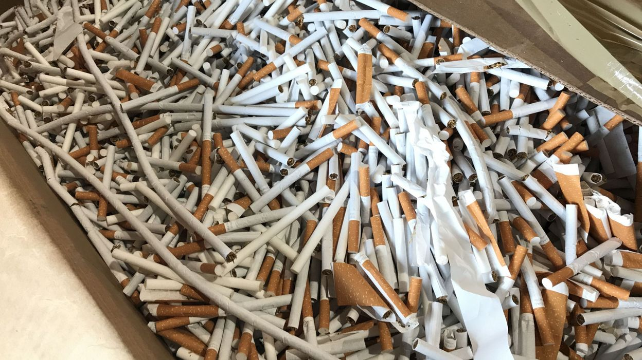 Tamines: 25millions de cigarettes saisies dans une usine clandestine