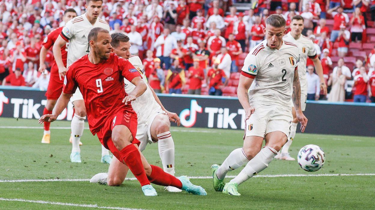 """Euro 2020 - Toby Alderweireld : """"Les Danois ont un peu joué à tout ou rien"""""""