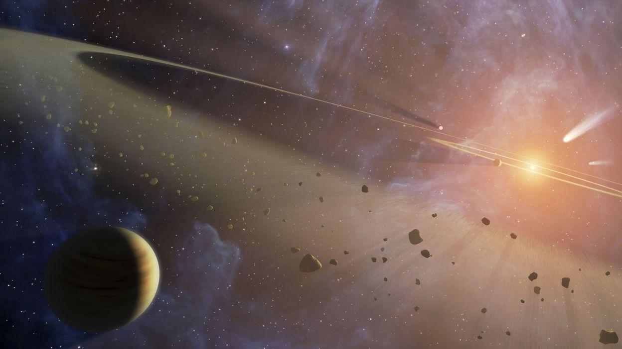 Comète, astéroïde ou météorite : quelles sont les différences ? - RTBF