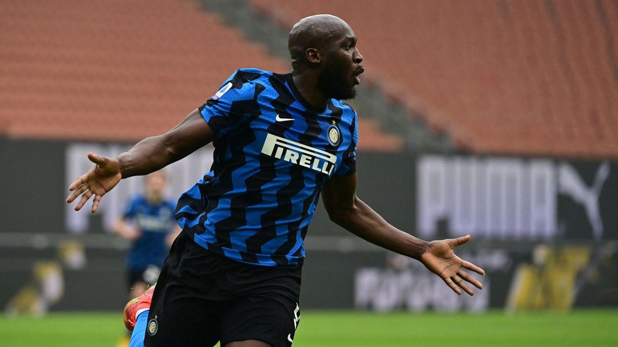 Sport Serie A : L'inarrêtable Romelu Lukaku élu joueur du mois de février - RTBF