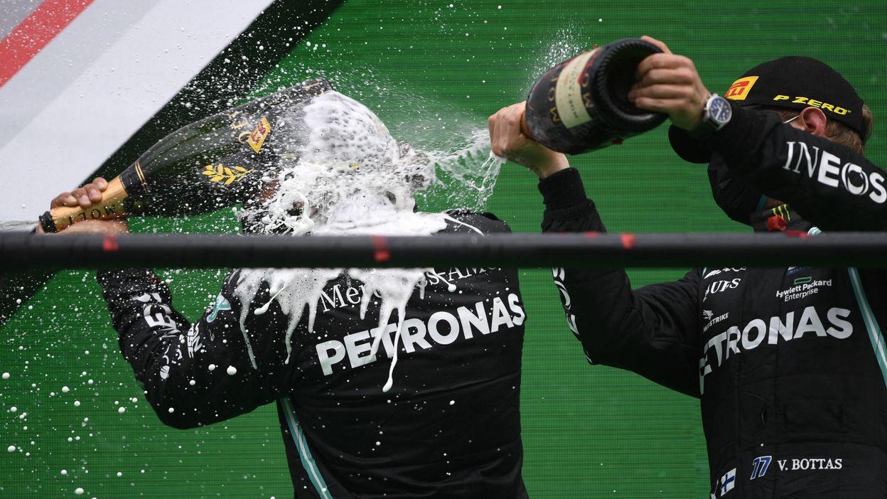 Sport Formule 1 : Les bouteilles de champagne sur le podium, c'est terminé - RTBF