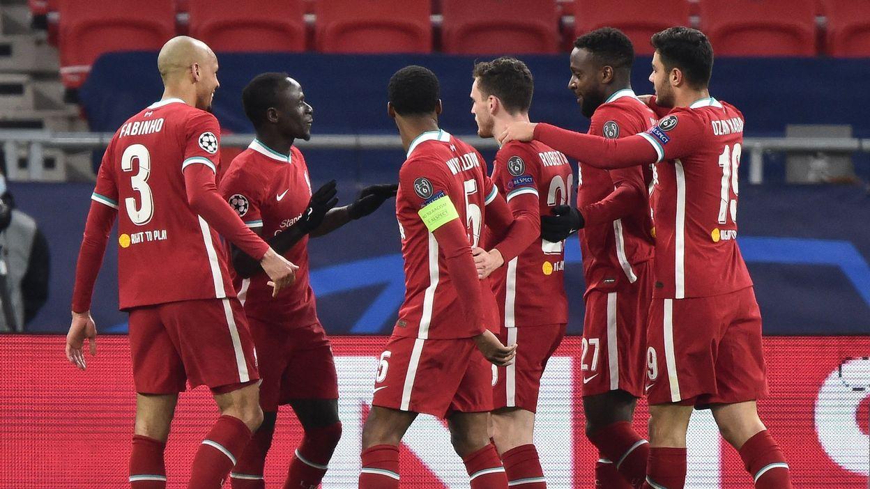 Champions League : Liverpool, avec Origi à l'assist, oublie ses ennuis en éliminant Leipzig pour filer en quarts - RTBF