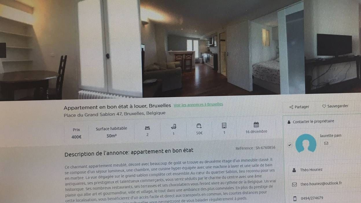 bon plan appartement bruxelles