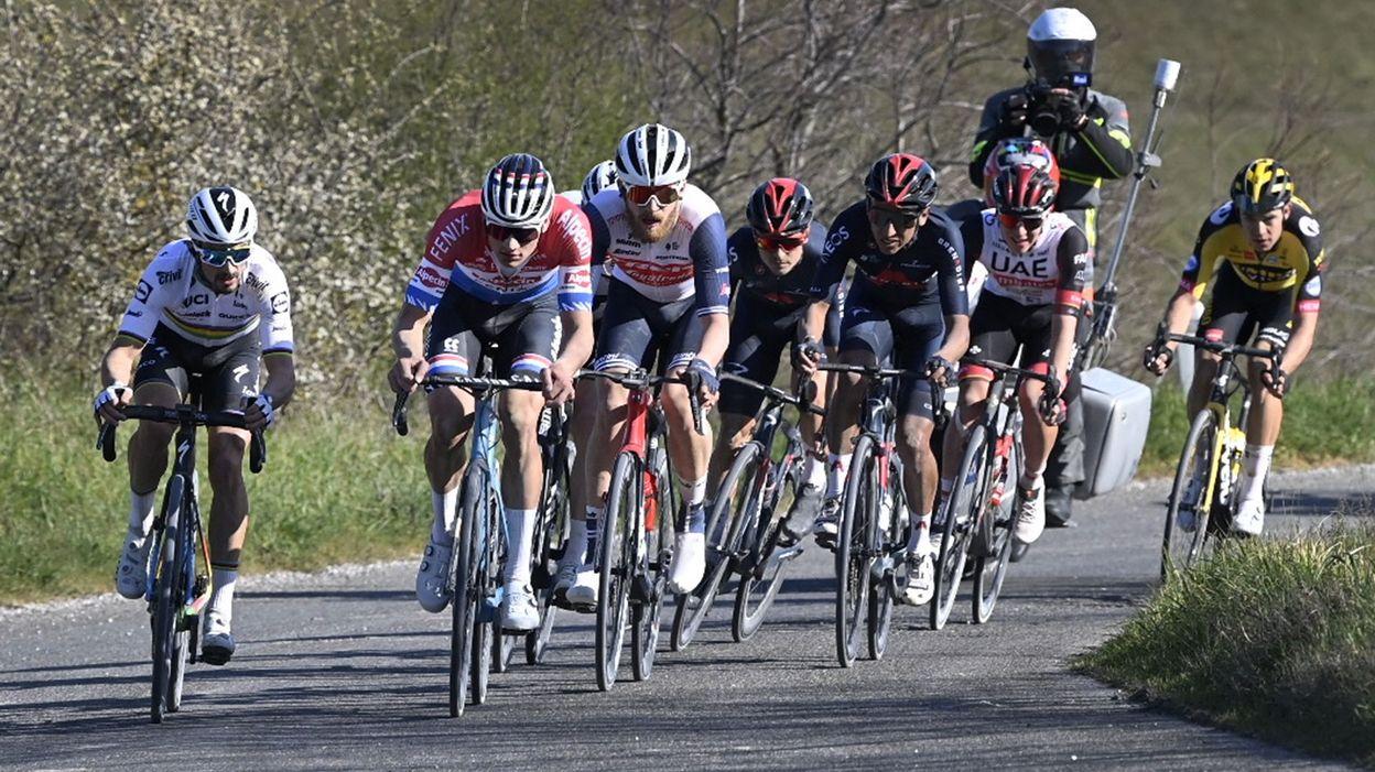 Van Aert, van der Poel, Alaphippe, Pogacar... du très lourd au départ de Tirreno-Adriatico - RTBF