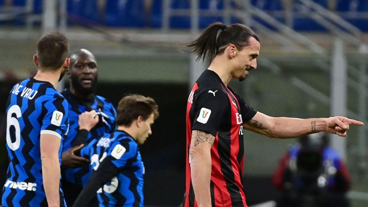 Zlatan Ibrahimovic vs Romelu Lukaku, derby milanais et prise de tête - RTBF
