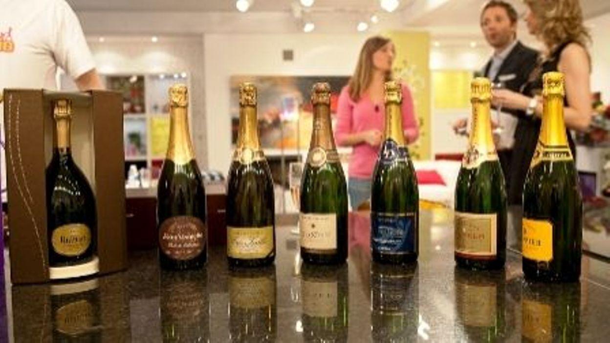champagne ruinart delhaize