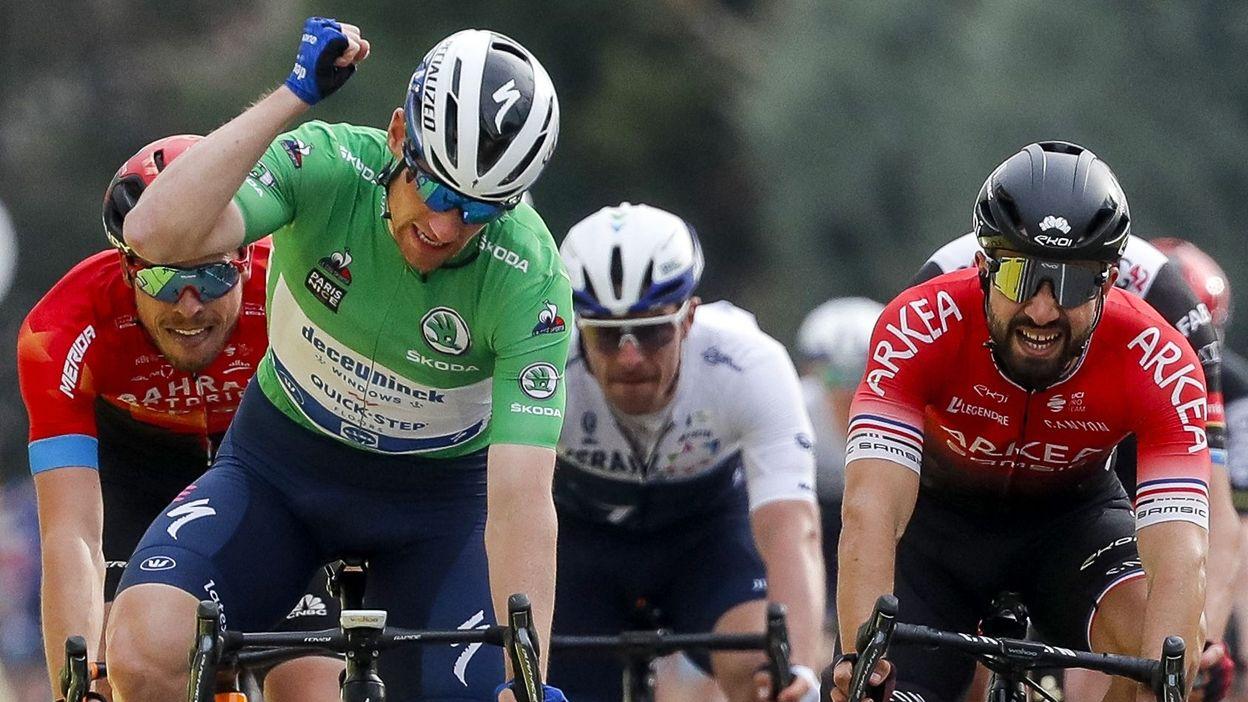 Paris-Nice 5e étape : deuxième victoire d'étape pour Sam Bennett, Roglic garde le maillot jaune - RTBF